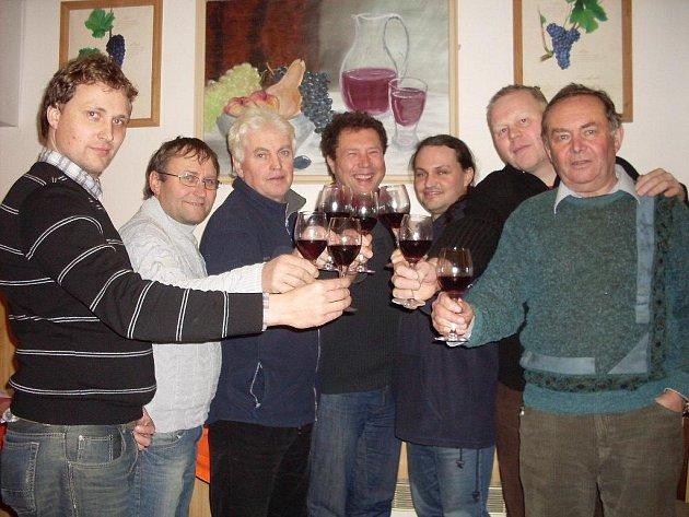 Druhý ročník degustace mladých vín uspořádali v pátek 20. ledna vinaři z Dolního Němčí.