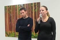 Výtvarník Lukáš Malina vystavuje v hradišťské Redutě do 19. února.