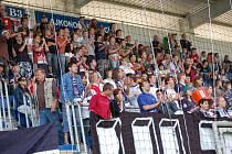 Plné tribuny spokojených fanoušků, to je cíl nového vedení fotbalového klubu Slovácko.