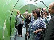 Dvoudenní program první dámy mimo jiné zahrnoval návštěvu Domova pro seniory na Burešově, chalupy na Žítkové a také biocentra Živá voda na Modré.