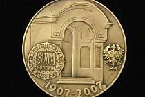 Medaile spolku Joži Úprky.