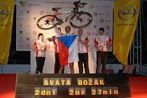 Svatopluk Božák na závodě Kolem Slovinska 2014.
