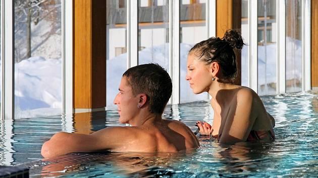 Termální bazén.