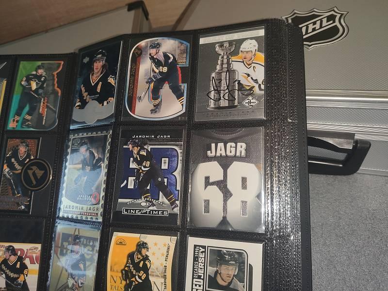Sběratelské karty Pittsburgh Penguins.