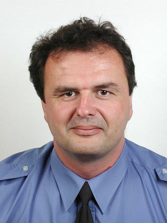 Velitel Městské policie v Uherském Hradišti Vlastimil Pauřík.