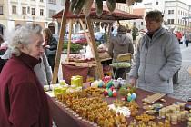 Město Kroměříž uspořádalo 14. 3. 2008 na Velkém náměstí tradiční Velikonoční jarmark.