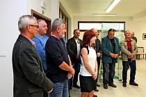 V Turistickém centru Velehrad se prezentuje svými díly 19 umělců.