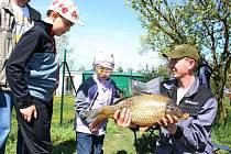 Dvanáctého ročníku jarních závodů se v Kostelanech nad Moravou zúčastnili 115 rybářů ze Slovácka a východní Moravy.