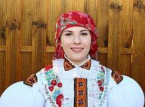 Polešovická stárka Lucie Korvasová
