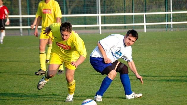 Fotbalisté Starého města zaznamenali v okresní soutěži svou čtvrtou výhru v ročníku, když v domácím prostředí přehráli Horní Němčí 4:1.