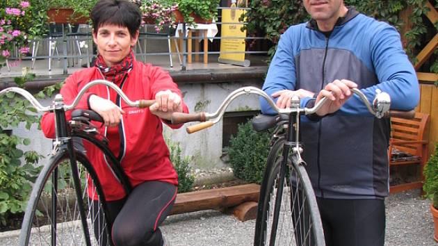 Manžele Příleské okouzlila vysoká kola.