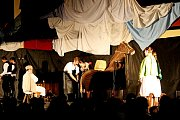 VÁNOČNÍ PREMIÉRA. Tancem, hudbou a písničkami ztvárnila Pentla sPentličkou zbrusu nový vánoční program.