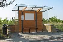 V Polešovicích mají nové autobusové zastávky.