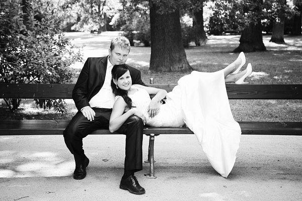 Soutěžní svatební pár číslo 142 - Gabriela a Jiří Habáňovi, Přerov