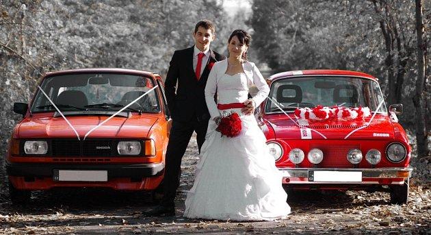 Soutěžní svatební pár číslo 94 - Lada a Lukáš Zdráhalovi, Osek nad Bečvou