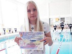 Aneta Mazurová vybojovala na přeborech Zlínského a Olomouckého kraje pět medailí.
