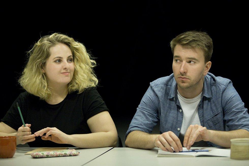 Slovácké divadlo nastuduje Romea a Julii. Petra Staňková a Pavel Šupina.