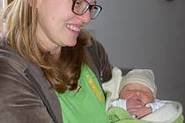 První miminko roku 2018se narodilo doma v Uherském Brodě