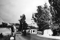 Velehradská - 50.léta.