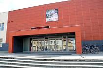 Budova Klubu kultury v Uherském Hradišti.