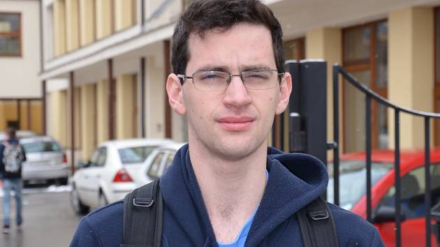 Devatenáctiletý Michal Buráň je studentem oktávy uherskobrodského Gymnázia J. A. Komenského.