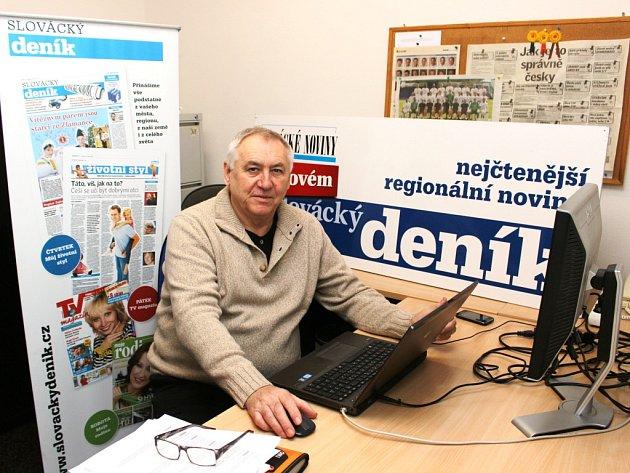 Pavel Popelka odpovídá v redakci Slováckého deníku na otázky čtenářů.