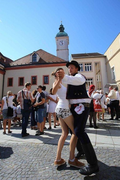Slavnosti vína 2016 v Uherském Hradišti.  Mikroregion Staroměstsko ve Staré radnici.