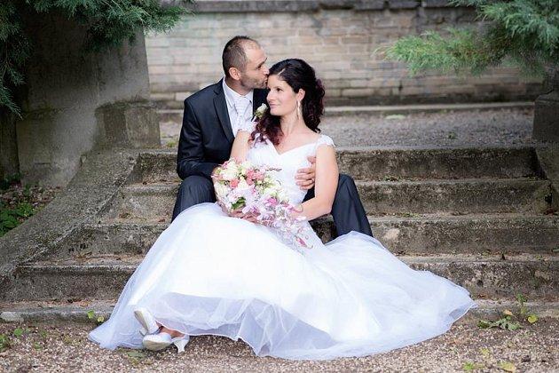 Soutěžní svatební pár číslo 213 - Ivana a Peter Jamborovi