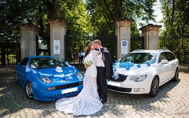 Soutěžní svatební pár číslo 134 - Lucie a Adam Kordasovi , Prostějov