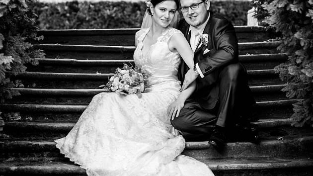 Soutěžní svatební pár číslo 294 - Veronika a David Šinderbalovi, Újezd u Brna.