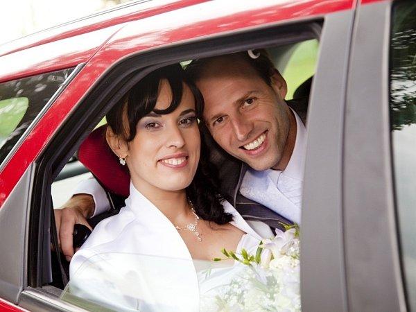 Soutěžní svatební pár číslo 46- Pavla a Pavel Tiší, Doloplazy
