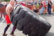 Součástí Slováckého léta bude jeden závod Strongmanů.