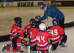 Nejmenší hokejisté HC Uherské Hradiště uplynulou sobotu získávali další zkušenosti ve slovenském Trenčíně.
