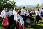 Pořad Aj, ty svatý Rochus, daj nám vína trochu provázelo nad Hradištěm krásné a slunečné počasí.