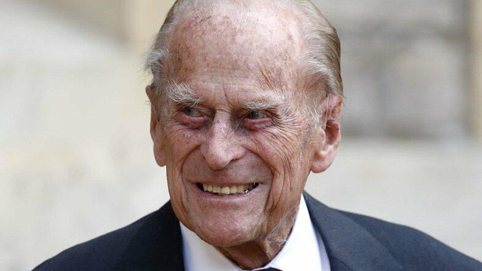 Britský princ Philip  na snímku z 22. července 2020