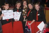 Studenti prvního ročníku Střední školu průmyslovou a hotelovou Uherské Hradiště reprezentovali na výbornou.
