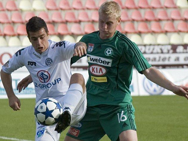 Z utkání Gambrinus ligy: Příbram – Slovácko (0:1), hraného 18. září 2010.