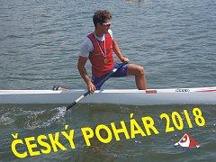 VÍTĚZ. Jiří Zalubil triumfoval v celkovém pořadí českého poháru v kategorii juniorů.