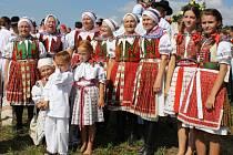 V Blatničce se na oslavách celkem sešlo 478 krojovaných.