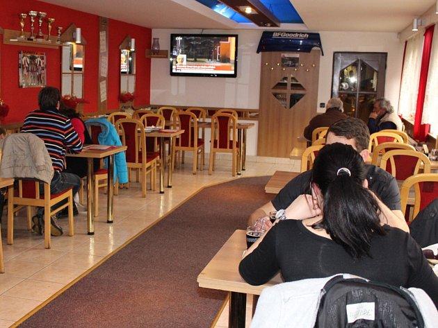 Restaurace Rally Grill v Uherském Brodě.