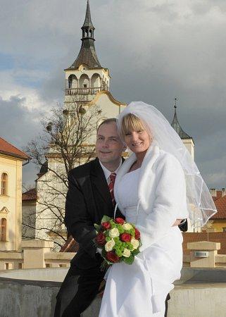 Soutěžní svatební pár číslo 268 - Markéta a Pavel Mikešovi, Lipník nad Bečvou.
