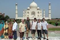 Členové kapely navštívili i jeden z divů světa