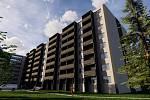 Budoucí vylepšenou podobu ubytovny ve Staré Tenici v Uherském Hradišti představil developer Sluneční reality.