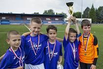 Sobotního turnaje v Uherském Brodě se zúčastnilo sedm týmů přípravek.