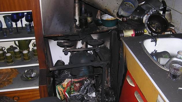 Zřejmě nedbalost nebo technická závada na  zařízení domácnosti způsobila malý požár, při němž zahynul starší muž ze Zlína.