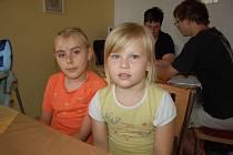 K interview ke Dnu dětí se nakonec uvolily Anita a Barča.