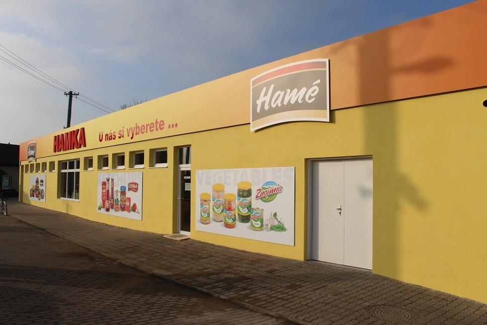 Společnost Hamé otevřela v Babicích novou prodejnu.