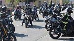 Pohřeb motorkáře Adama