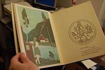 Na výstavě bude i kniha básní s Ladovými ilustracemi.