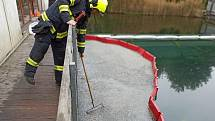 Terčem útoku neznámého pachatele se v pátek 15. října nad ránem stala expozice Živá voda v Modré na Uherskohradišťsku, kam někdo vylil původně neznámou látku, později označenou jako naftu.
